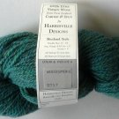 Harrisville Designs Shetland Style 100% Pure Virgin Wool Yarn Woodsmoke 5717 Blue Green 50g 200y