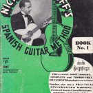 Nick Manoloff's Spanish Guitar Method Book 1935 (No accompaniment guide disc)