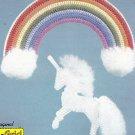 Rainbows on Plastic Grids - Plastic Canvas pattern booklet
