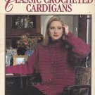 Leisure Arts Classic Crocheted Cardigans pattern leaflet 2624 Women's sweaters Donna Scully
