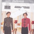 Butterick 4625 Pattern Uncut FF 6 8 10 12 Jessica Howard Lined Top Pants