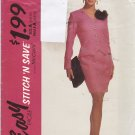 McCall's Stitch N Save Pattern 5843 Uncut FF 6 8 10 Unlined Jacket Skirt Easy