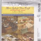 McCall's Pattern M4730 Uncut FF Donna Babylon Reversible Table Runner Placemat Napkin Tablecloth