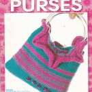 "Leisure Arts ""Knit Beaded Purses"" Booklet 3923 Karen Tam"