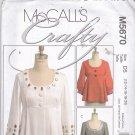 McCall's M5670 5670 Pattern Uncut Crafty Unlined Jacket 12 14 16 18 20
