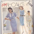 McCall's 2928 Pattern Uncut 8 10 12 Sleeveless Straight Dress Unlined Jacket