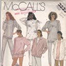 McCall's 3233 Pattern Uncut small 10 12 Sweatshirt Pants Shorts Jacket