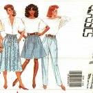 Butterick 6249 Pattern Uncut p s m l xl Pants Shorts Skirt