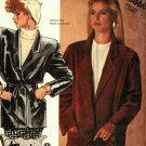McCall's 3366 Pattern Uncut 12 Real or Faux Suede or Leather Lined Jacket Belt