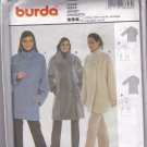 Burda 8603 Pattern Uncut 8 10 12 14 16 18 Lined Winter Jacket Loose Fit Brushed Wool Faux Fur