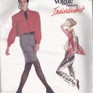 Vogue Individualist 2116 Pattern 6 8 10 Uncut ADRI Zip Front Jacket Skirt Pants