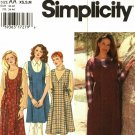 Simplicity 9804 Pattern xs s m Uncut Pullover Flared Jumper Modest