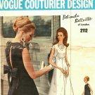 Vogue Couturier Design 2112 Pattern 10 Belinda Bellville with label Evening Dress
