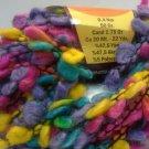 Zumrut Clover Novelty Boucle Wool Blend Yarn Magenta Lavender Turquoise Yellow 50g 22 yards