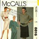McCall's 8816 Pattern Uncut 14 16 Dress Tunic Skirt Carole Little Saint-Tropez West