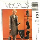 McCall's 3328 Pattern uncut 12 14 16 Career Jacket Vest Pants Skirt
