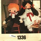 Little Vogue 1336 Pattern Uncut 32 inch dolls with clothes and pajamas boy and girl