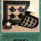 Mumm's the Word Tea Party Teapot and Teacup Mini Quilt Pattern to Sew