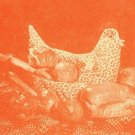 Ozark Hen Bun Cozy Casserole Cover Pattern to sew Soft Hen Uncut Ozark Crafts