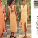 Butterick 3997 Pattern uncut 14 16 18 Open Tie Back Dress Donna Ricco