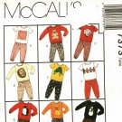 McCall's 7373 Pattern uncut 2 3 4 Toddlers Play Clothes Shirt Pants Sweats