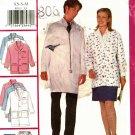 Butterick P515 Pattern uncut XS S M Scrub Coat Jacket Skirt Shorts Pants Hat Pocket