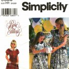 Simplicity 9656 Pattern uncut Girls 3 4 5 6 Special Occasion Dress Flower Girl