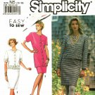 Simplicity 7107 size 10 12 14 16 18 may be missing pieces, 50 cents plus shipping