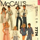 McCall's 7774 Pattern Uncut Clothes for Fashion Dolls like Barbie & Ken, Donny & Marie