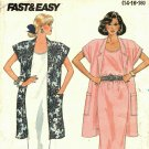 Butterick 5584 size 16 Jacket Dress may be missing pieces, 50 cents plus shipping
