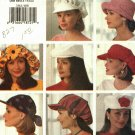 Butterick 3342 Hats in 3 sizes (22 23 24 inches) may be missing pieces, 50 cents plus shipping