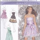 Simplicity 1655 Pattern Uncut 14 16 18 20 22 Strapless Dress Jessica McClintock