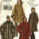 Vogue V7977 7977 Pattern Uncut L XL 16 18 20 22 Unlined Cape Easy to Sew