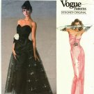 Vogue 1853 Pattern Uncut Size 10 Bust 32.5 Formal Dress Flared Overskirt Bellville Sassoon Designer