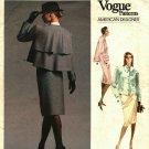 Vogue 1957 Pattern Uncut Size 16 Bust 38 Jacket Skirt Bill Blass