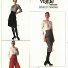 Vogue 2155 Pattern Uncut Size 16 Classic Skirt Raised Waist Straight Leg Pants Calvin Klein