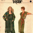 Vogue 7982 size 14 Dress Coat Jumpsuit may be missing pieces, 50 cents plus shipping