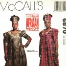 McCall's 6870 Pattern S M L uncut Tunic Skirt Pants African Designer Emeaba Emeaba