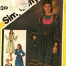 Simplicity 5783 Pattern uncut 10 Decorated or Plain Pullover Dress