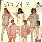 McCall's 3233 Pattern Uncut Medium 14 16 Jacket Top Pants Shorts Sweats for Knit Fabrics