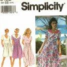 Simplicity 8422 Pattern uncut L XL 18 20 22 24 Jumpsuit Dress Short or Long