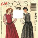 McCall's 4433 size 16 Jumper and Blouse may be missing pieces, 50 cents plus shipping