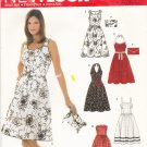 Simplicity New Look 6457 Pattern uncut 6 8 10 12 14 16 Summer Dresses Halter Sleeveless Strapless