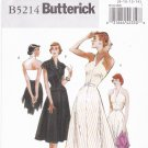 Butterick B5214 Pattern uncut 8 10 12 14 Retro 47 Halter Dress Jacket Belt