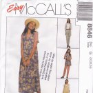McCall's 8846 Pattern uncut 20 22 24 Vest Jumper Top Pants