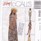 McCall's 8846 Pattern uncut 20 22 24 Vest Jumper Top Pants