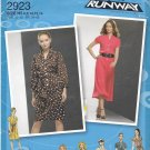 Simplicity 2923 uncut 6 8 10 12 14 Dress with Variations Project Runway