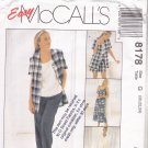 McCall's 8178 Pattern uncut 20 22 24 Dress Top Jacket Pants Shorts