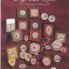 A Great Mini Jane Arlyn Crabtree Cross Stitch pattern chart leaflet Miniatures
