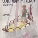 Rock A Bye Baby Book Columbia Minerva Beehive #738 Pattern Booklet